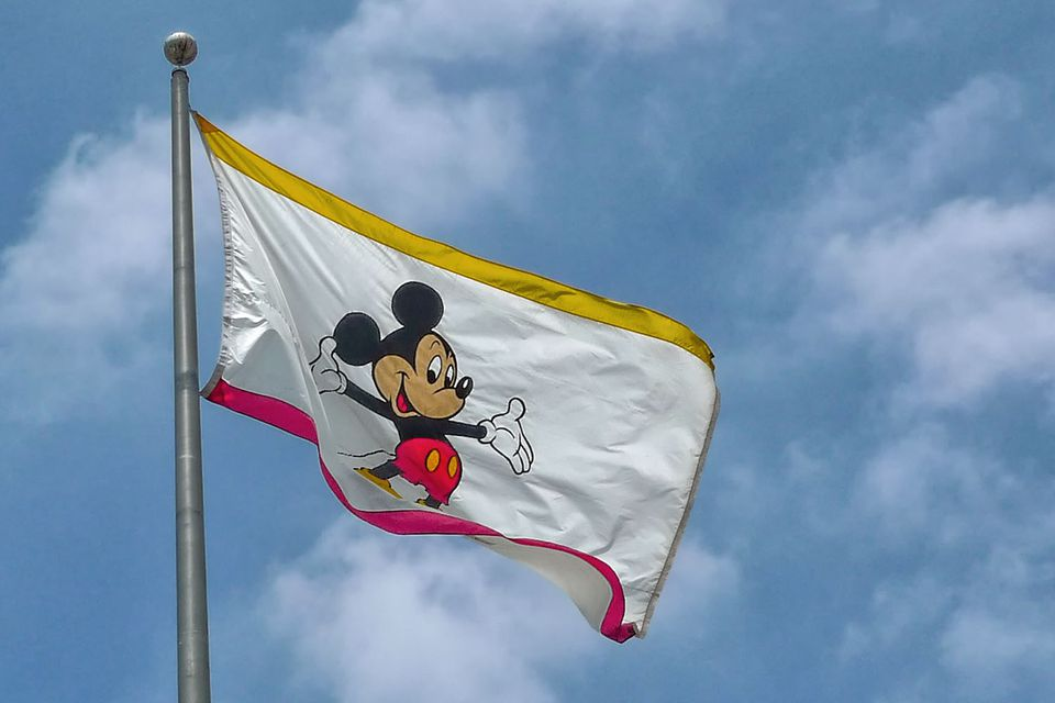 Flag at the Disney Studios, Burbank