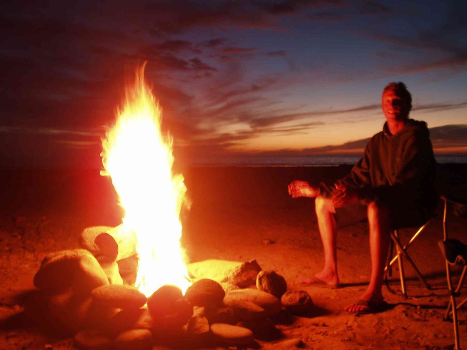 Camping Advice and Tips: How to Bank a Fire