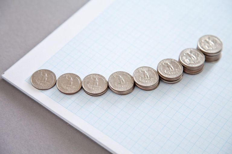 American coins on graph paper