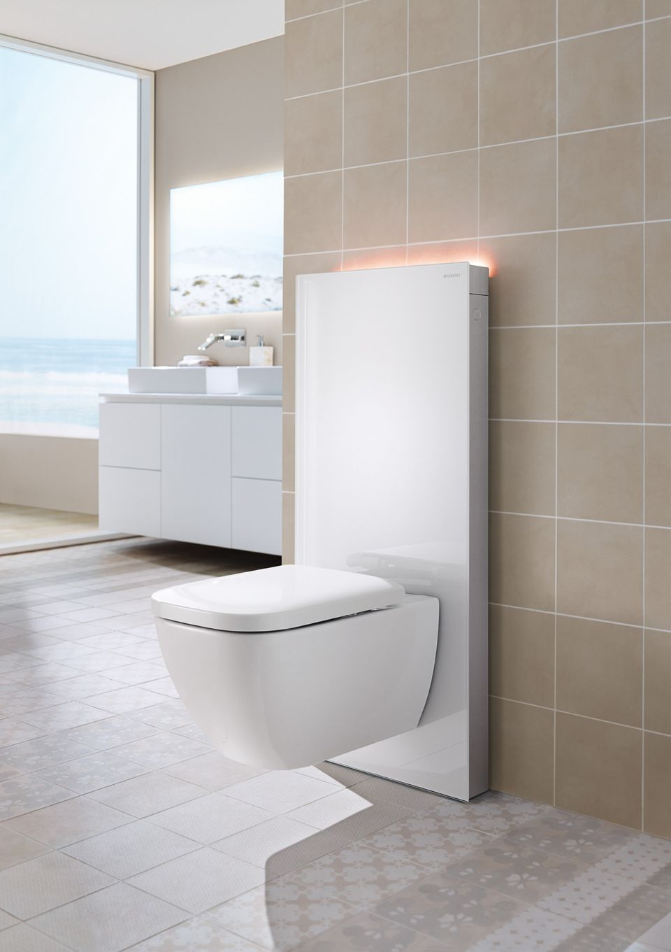 toilets for small bathrooms. The Geberit Monolith 8 Wall Mounted Toilets for Tiny Bathrooms