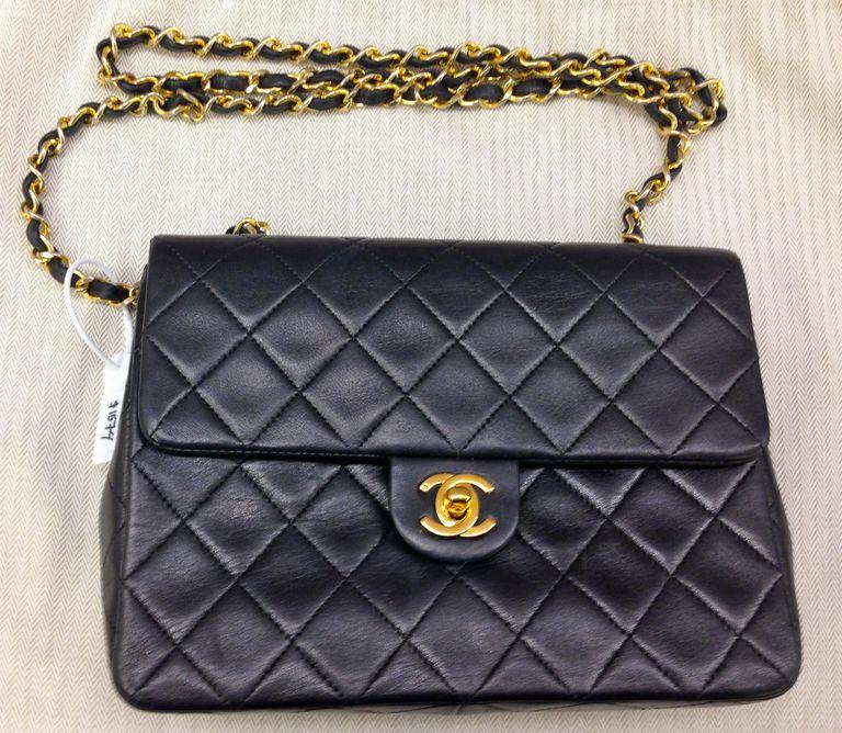 Authentic Chanel Flap Handbag at Portero.com