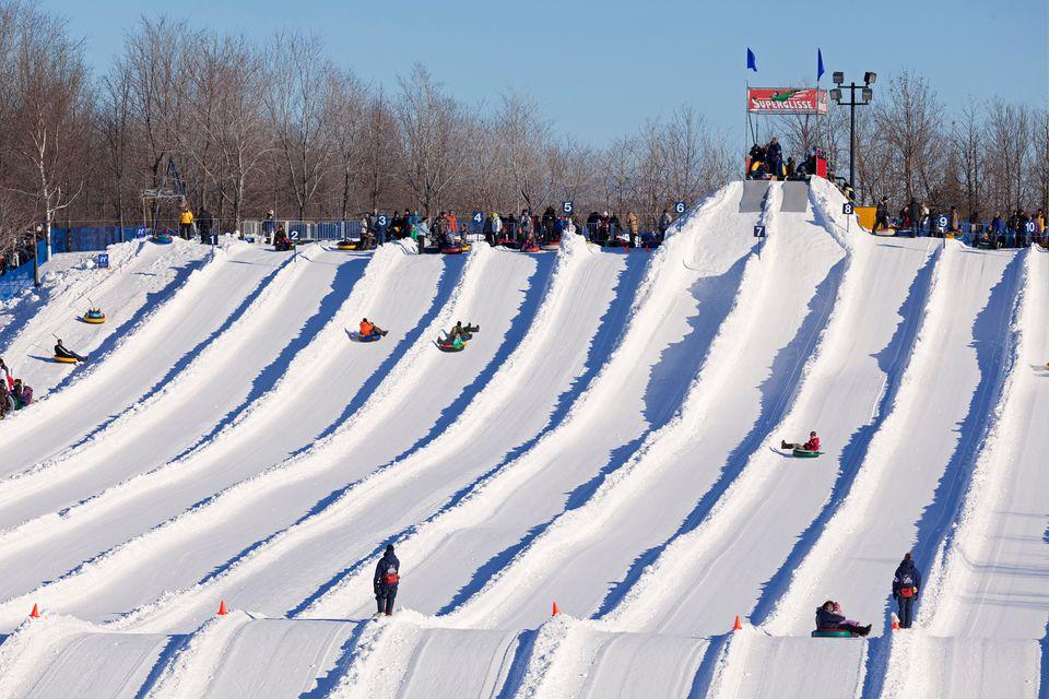Ski Tube Car Park