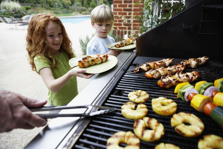 Healthy Foods on a Grill