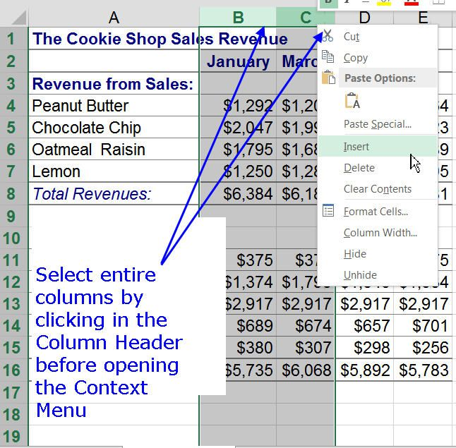 Working with Worksheets in Excel – Excel Worksheet Definition