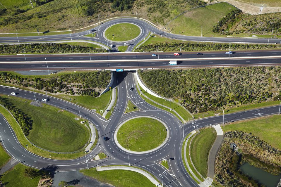 Highway roundabouts