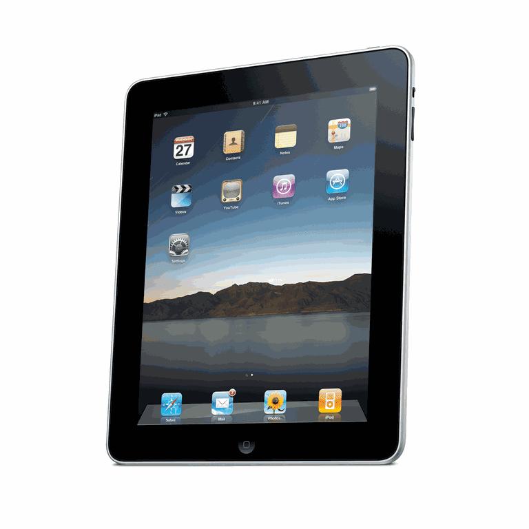 iPad - Courtesy of Apple