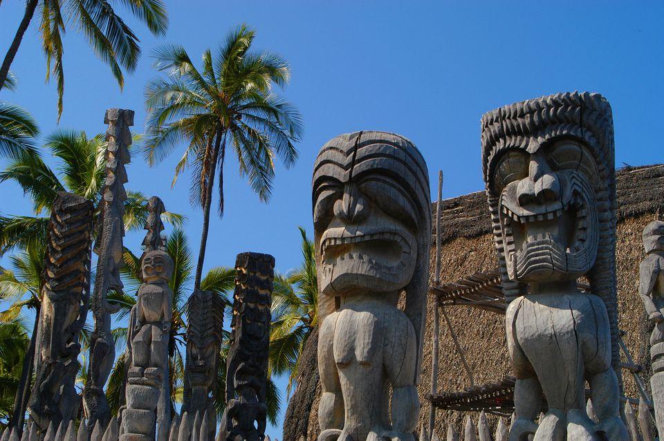 Guardian Kii - Pu'uhonua o Hōnaunau National Historical Park