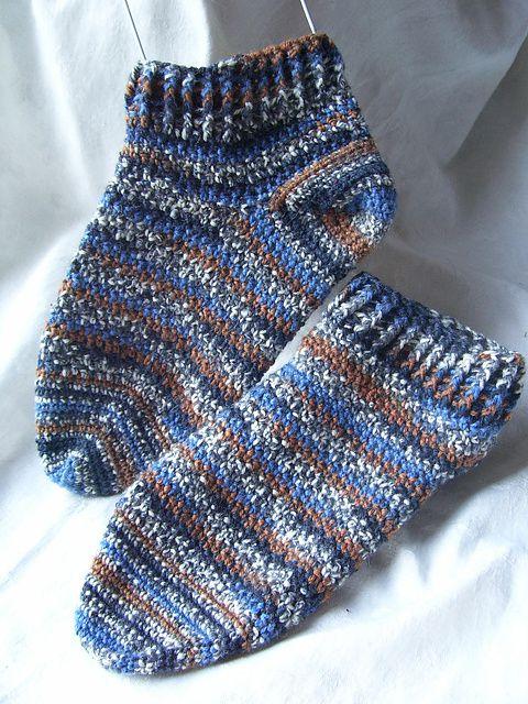 Crochet Ankle Socks Free Pattern