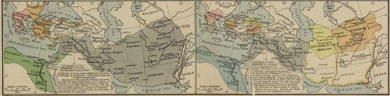 Kingdoms of the Diadochi, immediate successors of Alexander the Great