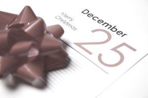 December 25th calendar