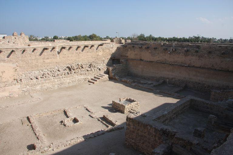 Main Courtyard, Dilmun Culture, Fort Bahrain
