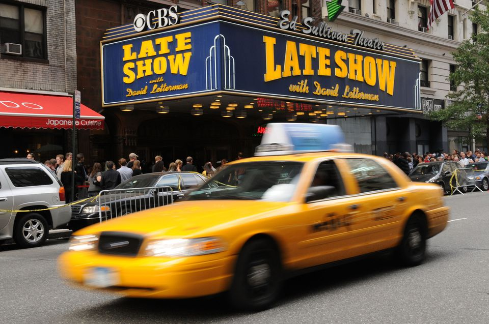 The Late Show with David Letterman at the Ed Sullivan Theater in NYC