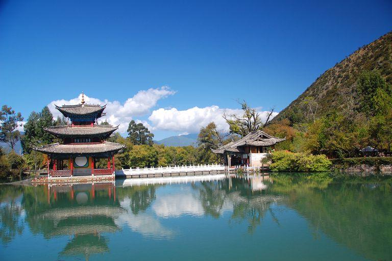Shrine in China