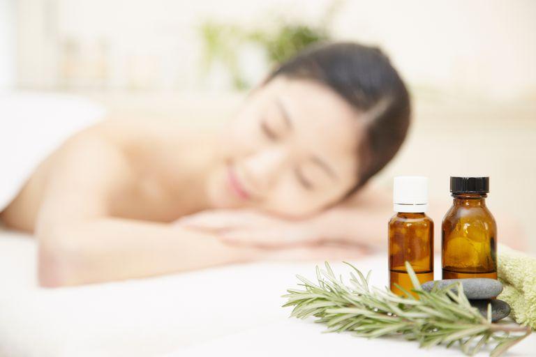mezcla de aceites esenciales para hacer aceites corporales