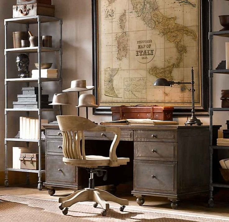 7 cool ways to decorate with vintage maps and globes