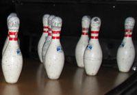 Bowling pins.