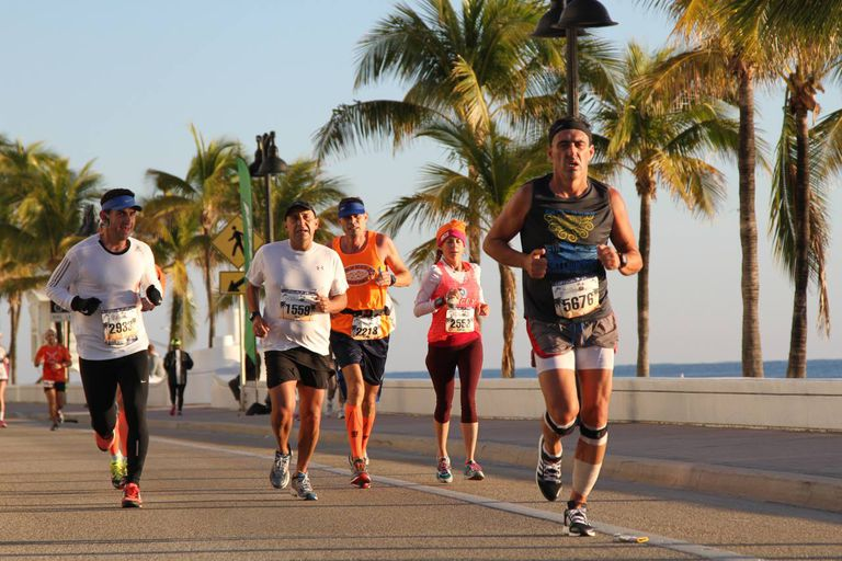 Fort Lauderdale A1A Half Marathon