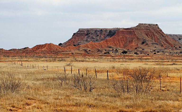 The Gloss Mountains, south of the NWOSU campus