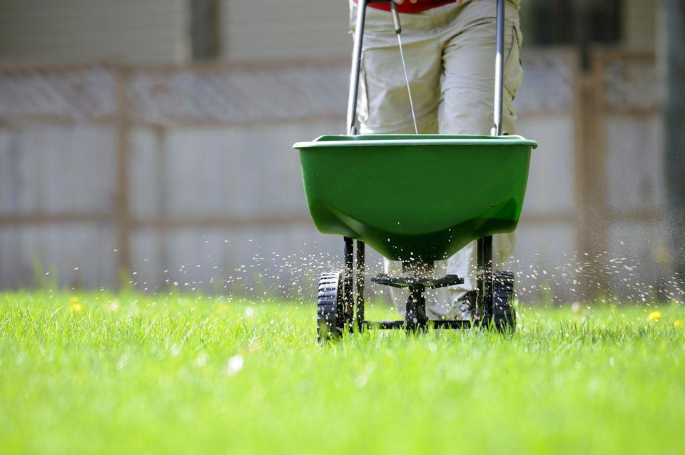 Yard fertilizing