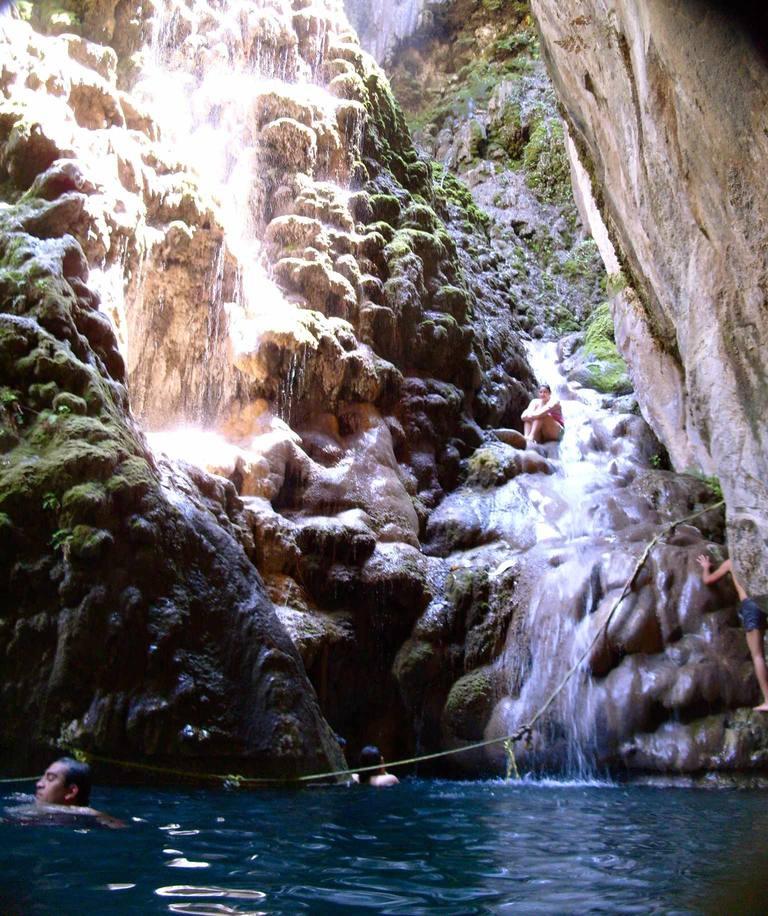 Cascada en Tolantongo