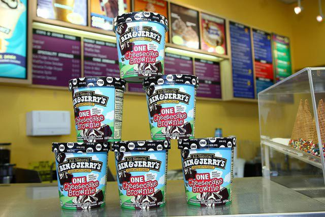 Ben & Jerry Launch 'ONE Cheesecake Brownie' Benefiting ONE.org