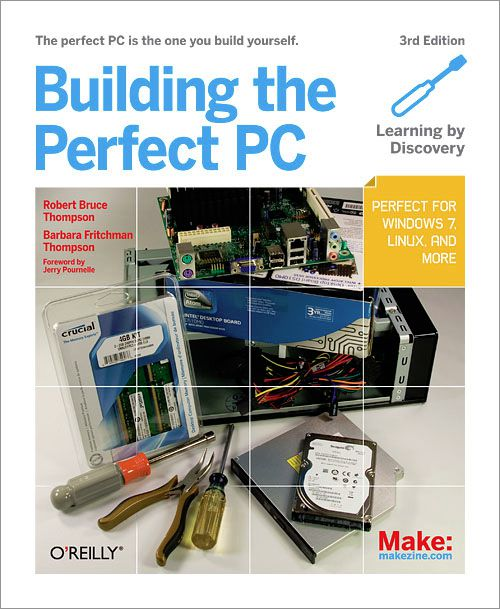 A picture of the 3rd edition of the book Building the Perfect PC