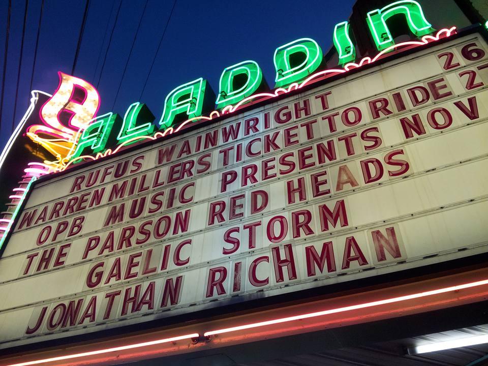 Aladdin Theater in Portland, Oregon
