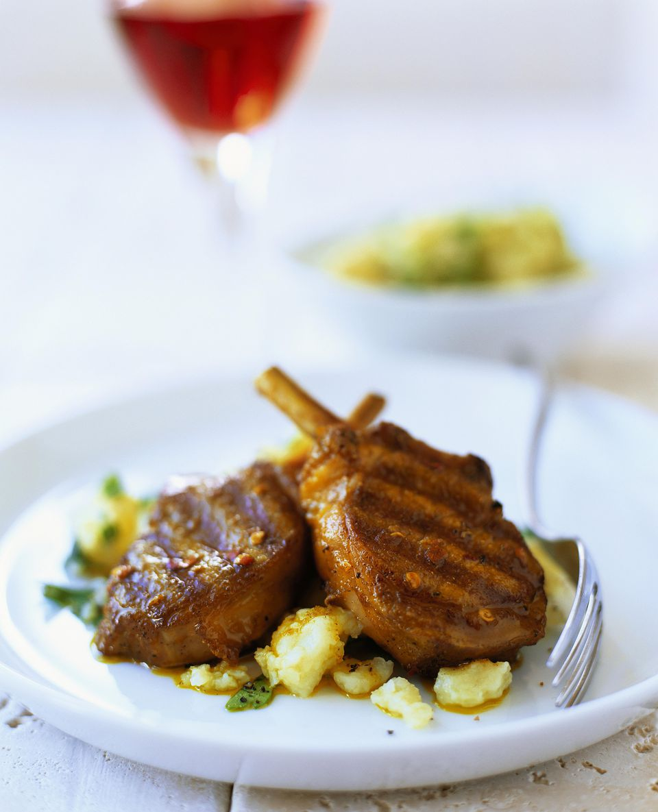 Grilled Armenian-Style Lamb Chops
