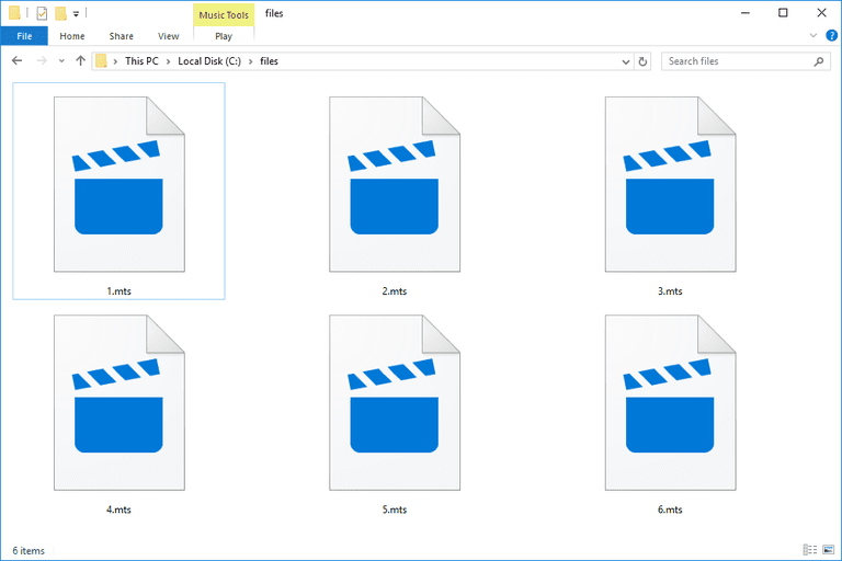 MTS Files