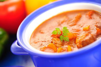 Easy Beef Goulash From Your Slow Cooker
