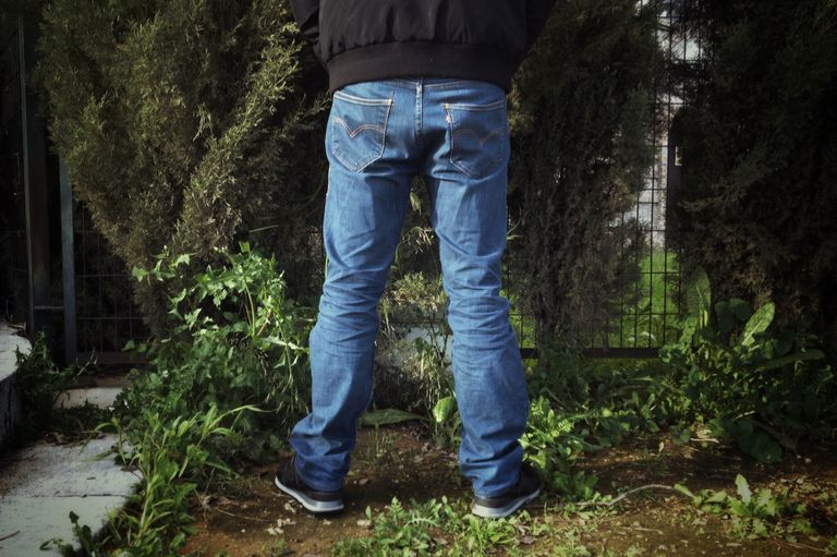 Urinating Outdoors