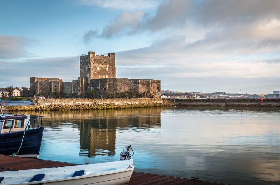 Carrickfergus Castle in Northern Ireland