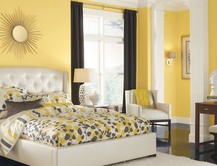 yellow bedroom furniture. Be an Awesome Host With These Easy Guest Bedroom Decorating Ideas Bring Color and Textures into your Staged
