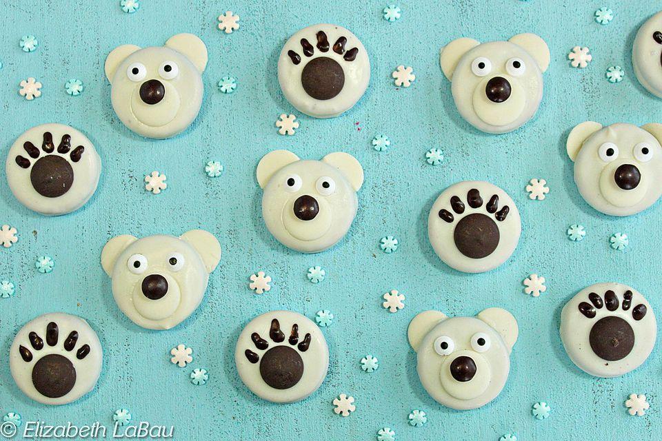 Polar Bear Oreo Cookies