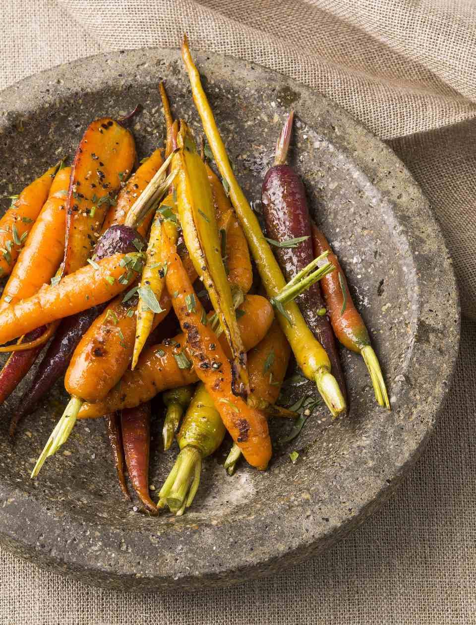 Crockpot Glazed Carrots