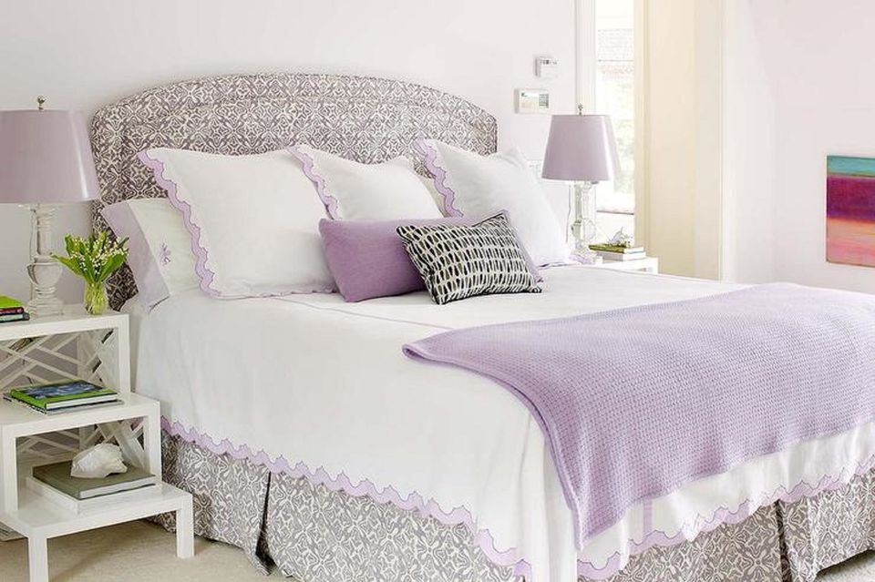 lavender bedroom ideas tips and photos for decorating the bedroom with lavender 12061