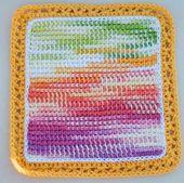 Watercolor Rainbow Potholders
