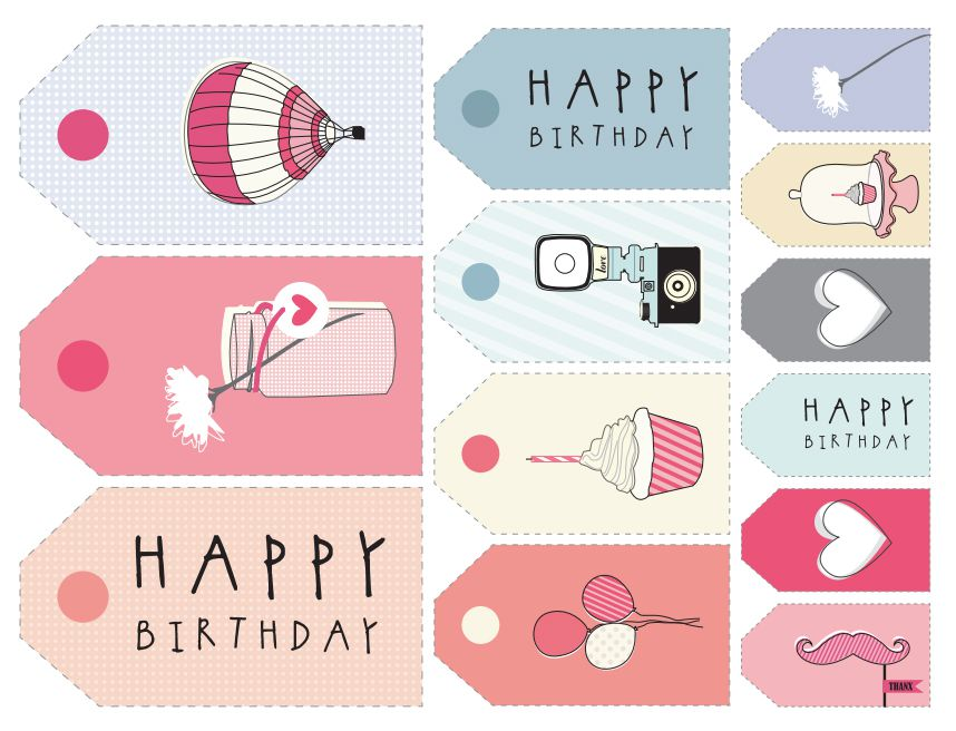 11 sets of free printable gift tags for anytime of year negle Gallery