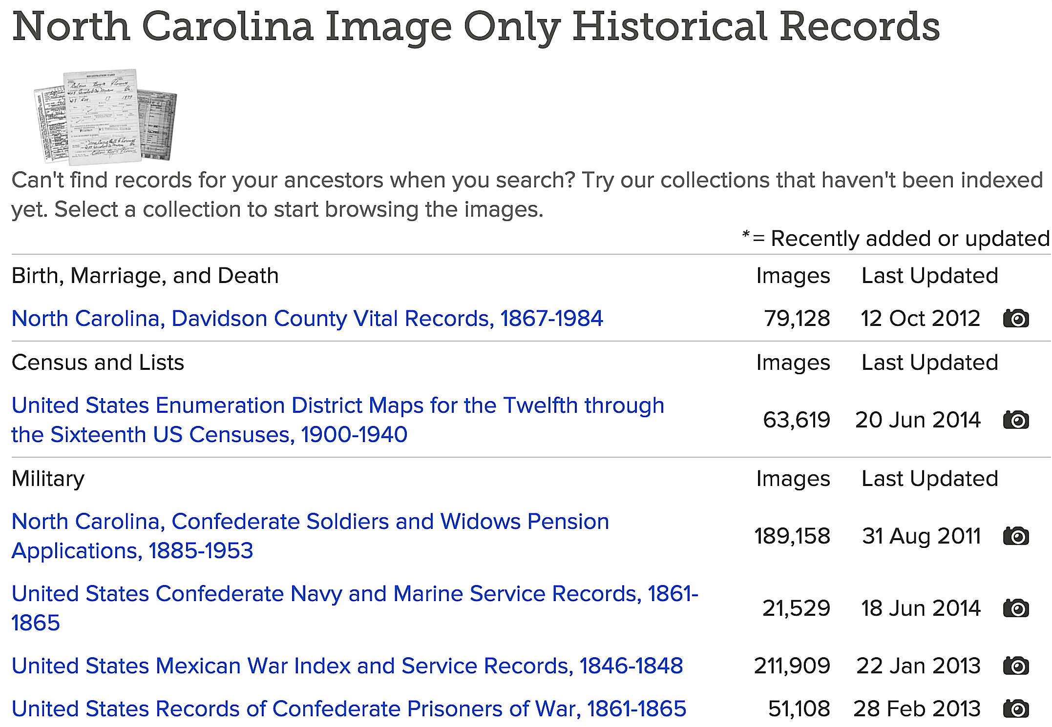 South carolina databases and digital records online discover a wealth of original historical records online in familysearch aiddatafo Images