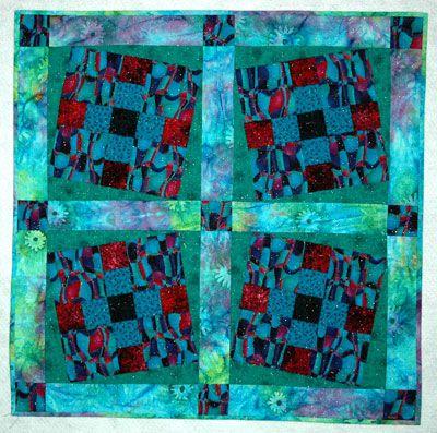 Make Tilted Quilt Blocks