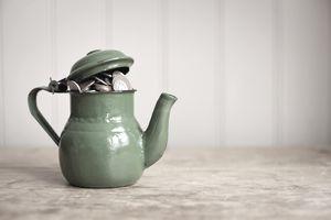 Money in a teapot
