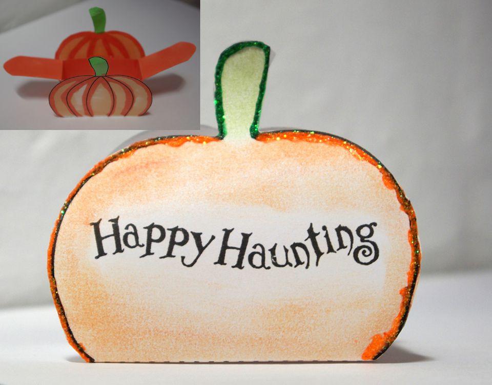 Pumpkin Favor Box