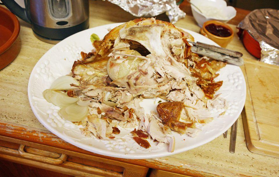 Holiday turkey leftovers