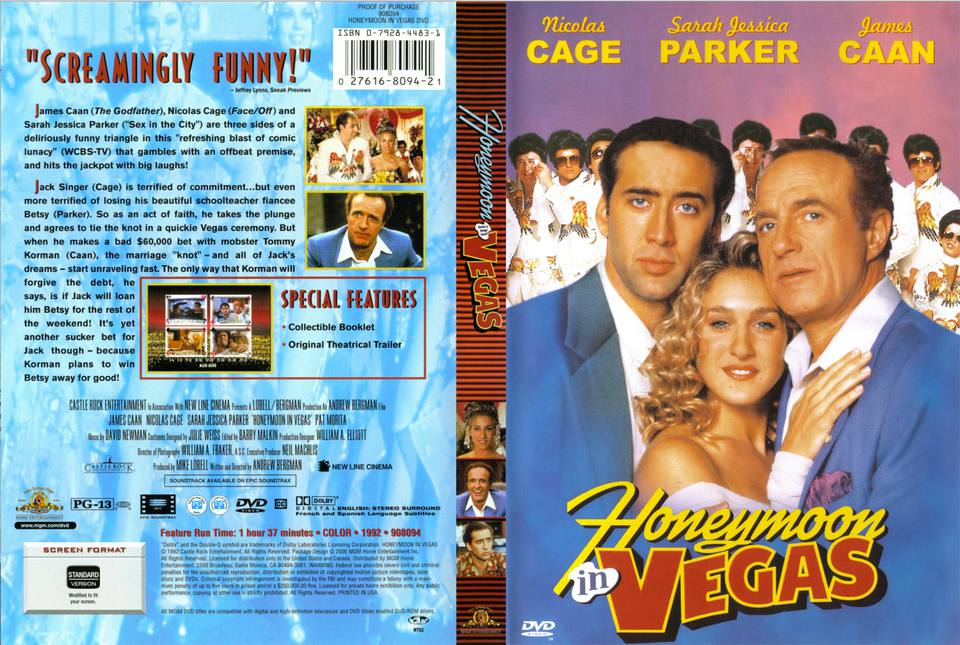 honeymoon in vegas cover
