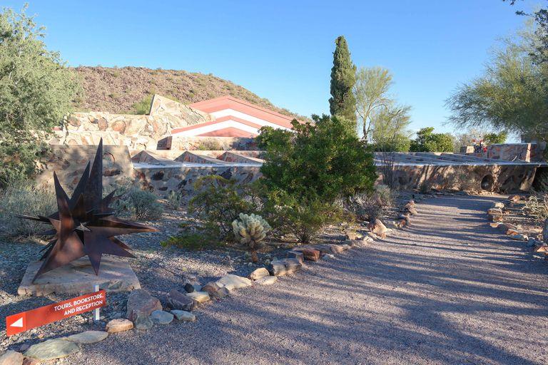 Frank Lloyd Wright's Taliesin West, Organic Architecture in Scottsdale, Arizona