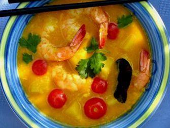 Thai Shrimp Coconut Curry