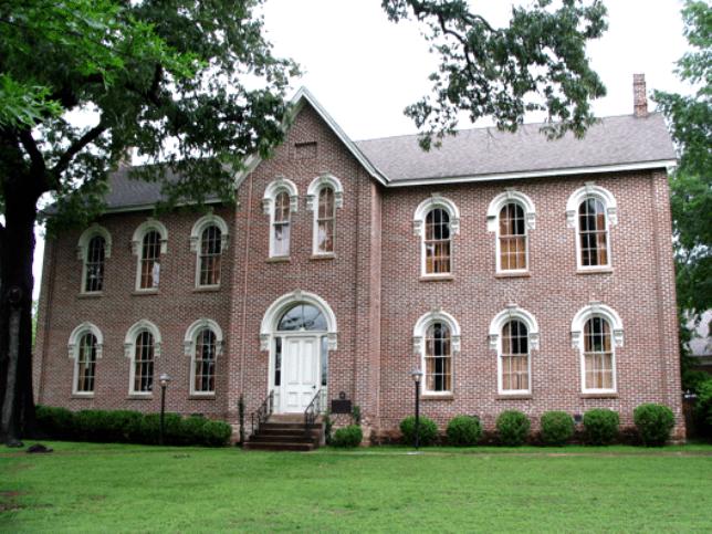 Morrow Hall, the original Lyon College building