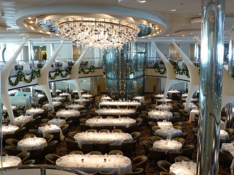 Celebrity Reflection Opus Restaurant