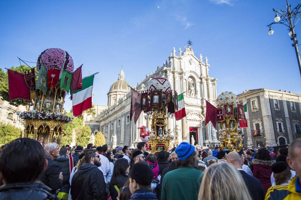 Religious Festival of Sant'Agata In Catania