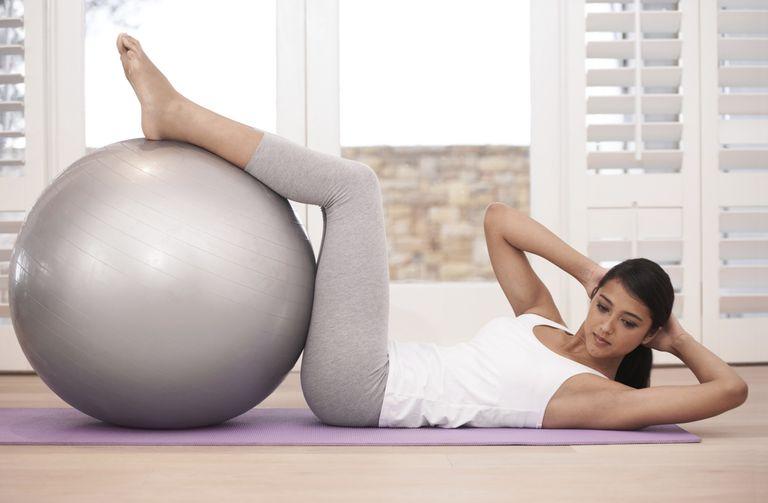Strengthening her core
